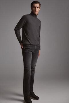 Pedro del Hierro Roll-neck jumper  Grey