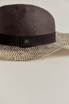 Pedro del Hierro Two-tone sun hat Black