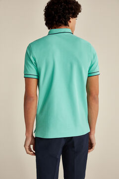 Pedro del Hierro Short-sleeved polo shirt Green