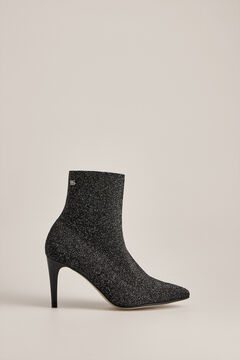Pedro del Hierro Lurex ankle boot Grey