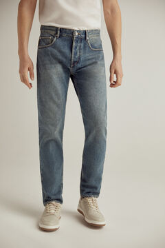 Pedro del Hierro Pantalón vaquero Authentic fit lavado medio Blue