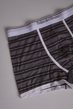 Pedro del Hierro Striped jersey-knit boxers Blue