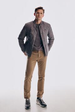 Pedro del Hierro Pantalón chino Premium Flex Slim Beige