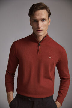 Pedro del Hierro Turtleneck jumper  Red