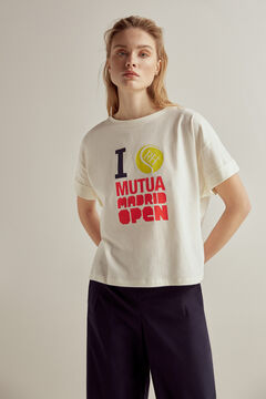 Pedro del Hierro Camiseta Open Madrid Crudo
