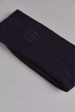Pedro del Hierro Lurex sock Blue