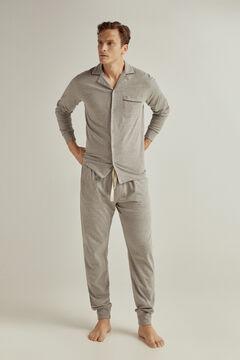 Pedro del Hierro Jersey-knit pyjamas Grey