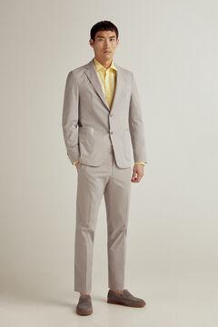 Pedro del Hierro Cotton blazer Grey