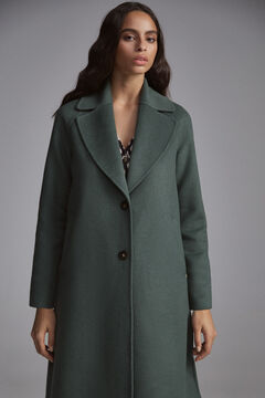 Pedro del Hierro Double-face coat Green