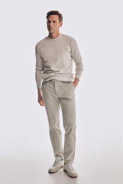 Pedro del Hierro Regular fit Premium Flex chinos Grey