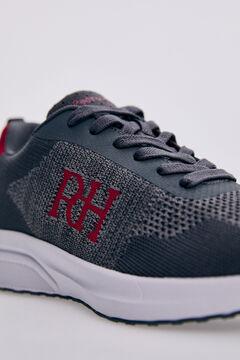 Pedro del Hierro Sneaker textil reciclada Rojo