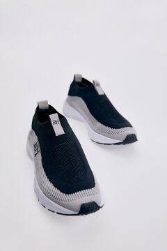 Pedro del Hierro Sneaker slip on reciclado Negro