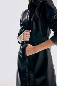 Pedro del Hierro Vestido napa Negro