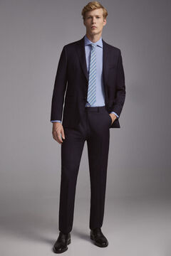 Pedro del Hierro Pantalón tailored fit Azul