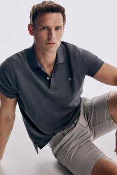 Pedro del Hierro False plain Bermuda shorts Grey