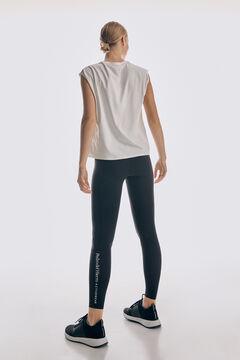 Pedro del Hierro High waist compression leggings Black
