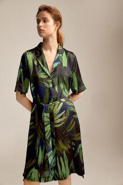 Pedro del Hierro Printed blouse Green