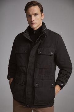 Pedro del Hierro Jacket with four pockets Black