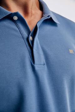 Pedro del Hierro Long-sleeved polo shirt Burgundy