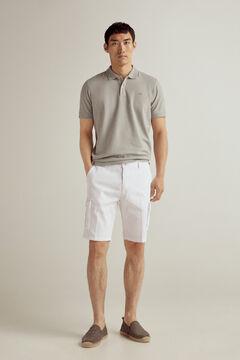 Pedro del Hierro Cargo Bermuda shorts White