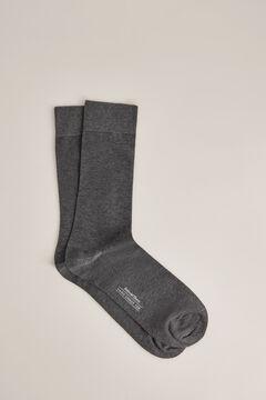 Pedro del Hierro Cotton dress socks            Grey