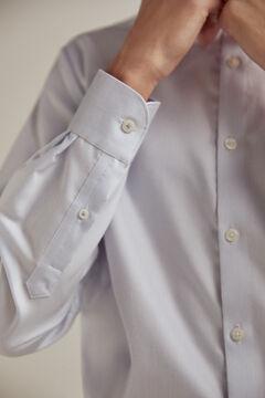 Pedro del Hierro Camisa de vestir estructura slim non-iron Blue