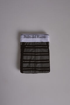 Pedro del Hierro Striped jersey-knit boxers Black