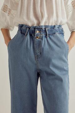 Pedro del Hierro Tencel® paperbag jeans  Blue