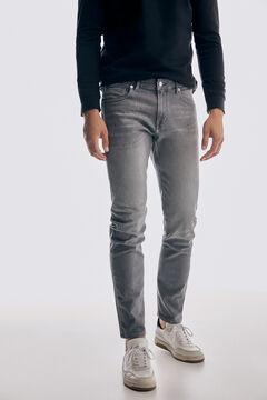 Pedro del Hierro Regular fit grey wash Premium Summer Flex jeans Grey