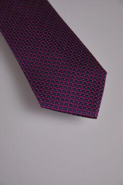 Pedro del Hierro Textured weave tie Pink