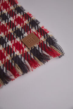 Pedro del Hierro Checked blanket Red