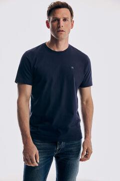 Pedro del Hierro Basic short sleeve t-shirt Blue