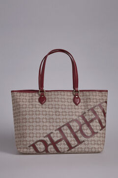 Pedro del Hierro Canvas shopper bag Red