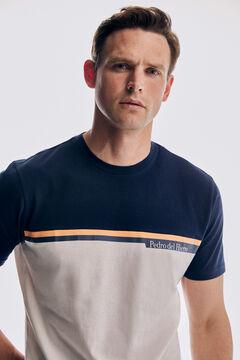 Pedro del Hierro Short sleeve t-shirt Blue