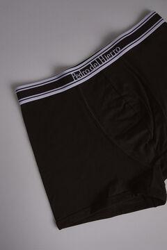 Pedro del Hierro Plain knit boxers Black