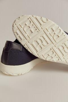 Pedro del Hierro Sneaker cordones piso goma Azul