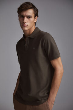 Pedro del Hierro Smooth polo shirt Grey
