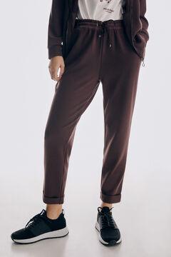 Pedro del Hierro Combined trousers Brown