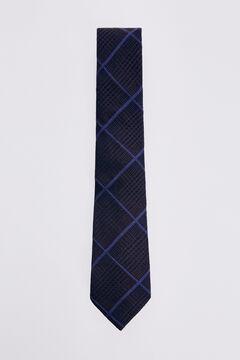 Pedro del Hierro Prince of Wales check tie Brown