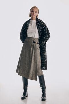 Pedro del Hierro Checked skirt Several