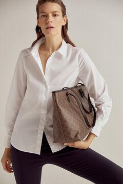 Pedro del Hierro Essential poplin blouse White
