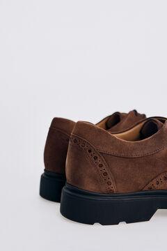 Pedro del Hierro Rubber sole urban shoe Brown