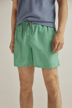 Pedro del Hierro Plain swim shorts Green