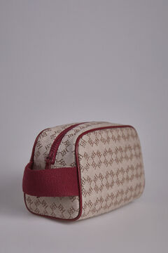 Pedro del Hierro Vanity bag with Logos Red