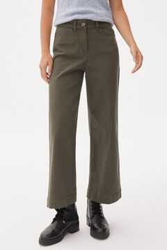 Pedro del Hierro Wide leg jeans Grey