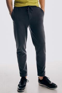 Pedro del Hierro Sports trousers Grey