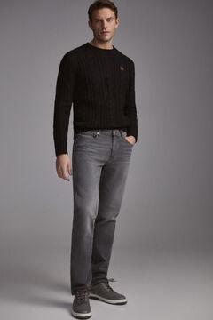Pedro del Hierro Jeans premium flex regular cinzentas Cizento