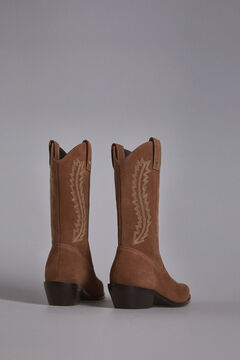 Pedro del Hierro Western boot Brown