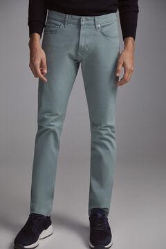 Pedro del Hierro Jeans premium flex 5 bolsos cor slim  Bordeaux