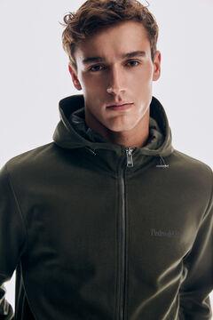 Pedro del Hierro Hooded sweatshirt Grey